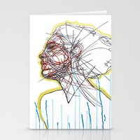 Sleep And A Forgetting Stationery Cards