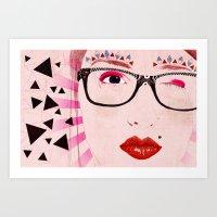 Pollyanna Art Print