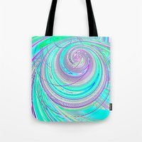 Re-Created  Hurricane 4 by Robert S. Lee Tote Bag