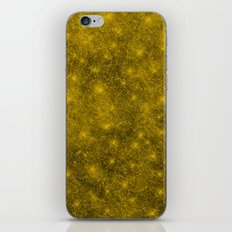 Sequin series gold iPhone & iPod Skin