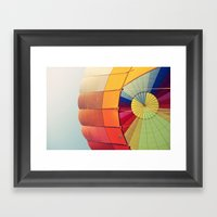 Ballooning Framed Art Print