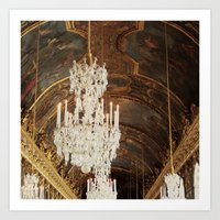 The Wonder Of Versailles Art Print