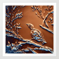 Bronze Beauty Art Print