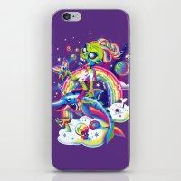 Rainbow Apocalypse iPhone & iPod Skin