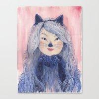 BaeBae Kitty Canvas Print