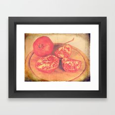 Melograno Framed Art Print