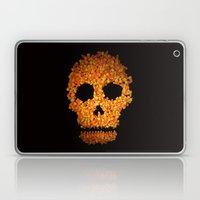 Candy Corn Skull Laptop & iPad Skin