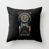 Dreamcatcher No.02 Throw Pillow