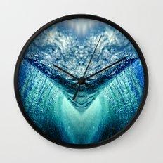 Ocean Vortex Wall Clock