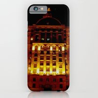 iPhone & iPod Case featuring Night Crest 1 by Art Pass