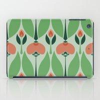 Nouveau Chrysanth Rose iPad Case