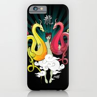 iPhone & iPod Case featuring Year Of The Dragon by Mishfit