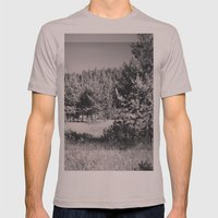 Waha, Idaho Mens Fitted Tee Cinder SMALL