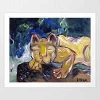 Nittany Lion Art Print