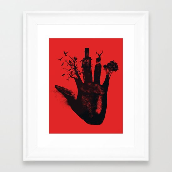 1 4d money 4 for life Framed Art Print