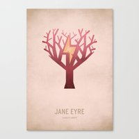 Jane Eyre Canvas Print