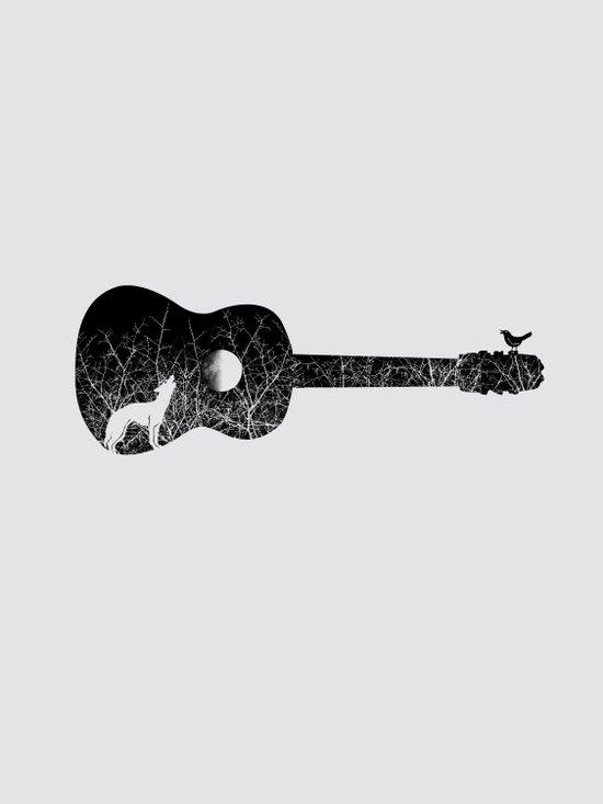 Night sounds Art Print