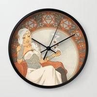 Game Nouveau Wall Clock