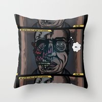 And Within A Split Secon… Throw Pillow