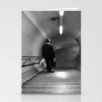 Empty London Underground… Stationery Cards
