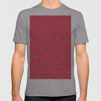 Fun Watermelons Pattern - Summer time Mens Fitted Tee Athletic Grey SMALL