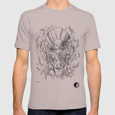 Battle damaged Ultron Mens Fitted Tee Cinder SMALL