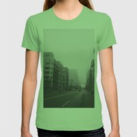 Woodward & John R...& Cl… Womens Fitted Tee Grass SMALL