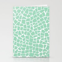 British Mosaic Mint Stationery Cards