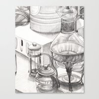 Kitchen Still Life Canvas Print