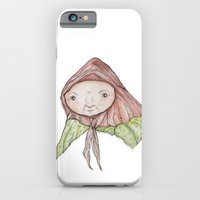 iPhone & iPod Case featuring Grannie by Nora Illustration