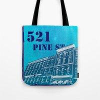 Pine St Tote Bag