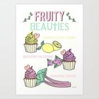 Lets Make Cupcakes! Art Print