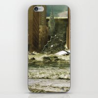 Water Vs City iPhone & iPod Skin