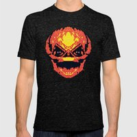 Trick Or Treat Sam Mens Fitted Tee Tri-Black SMALL