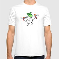 Mojito Mens Fitted Tee White SMALL