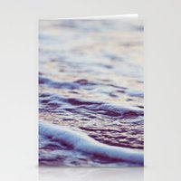 Morning Ocean Waves Stationery Cards