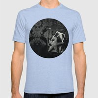 From A Summer At The Sho… Mens Fitted Tee Tri-Blue SMALL
