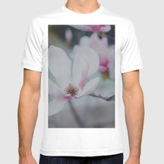 Sweet & Delicate White Mens Fitted Tee SMALL
