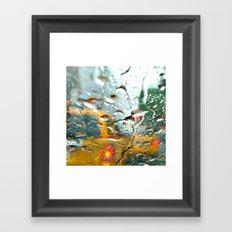 'CLASSIC NYC TAXI' Framed Art Print
