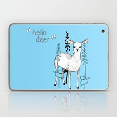 hello deer! Laptop & iPad Skin