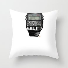 Synth Watch Throw Pillow