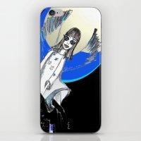 Blue Angel iPhone & iPod Skin