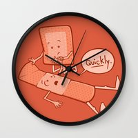 Come To My Aid Wall Clock