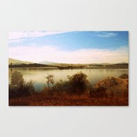 Canberra Foreshore Canvas Print