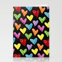 Midnight Love Stationery Cards