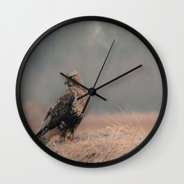 Wall Clock - Feathered Wanderer  - Faded  Photos