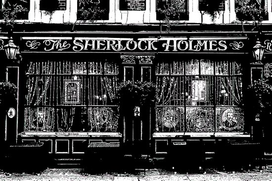 The Sherlock Holmes Pub London Art Print
