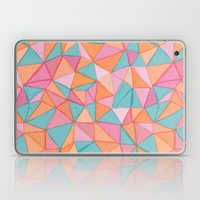 watercolor triangles Laptop & iPad Skin