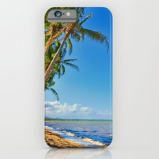 Coconut palms in Tropical North Queensland iPhone 6s Slim Case