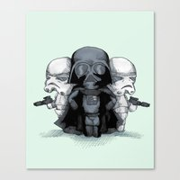 Come To The Plush Side Canvas Print